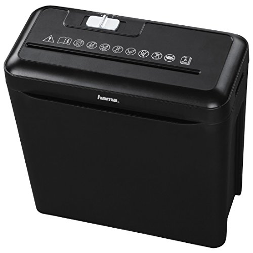 Hama 50194 AKTENVERNICHTER Premium X6S Schwarz