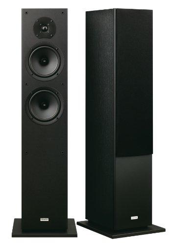 Onkyo SKF-4800 Standlautsprecher Front (2-Wege, Bassreflex, 130 Watt) schwarz