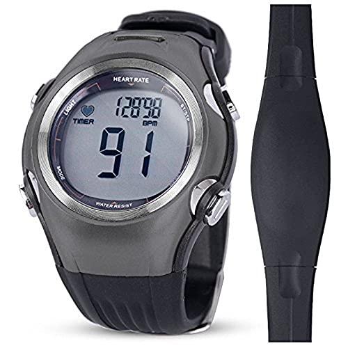GUILIAN reloj deportivo Relojes inteligentes Hombres Mujeres Monitor de ritmo cardíaco inalámbrico Correa de pecho contador de calorías deportes al aire libre Relojes Pulsómetro