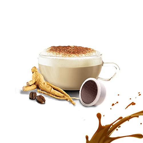 Caffè Kickkick al Ginseng 50 Capsule Compatibili Lavazza Espresso Point - Cialde Solubile Ginseng