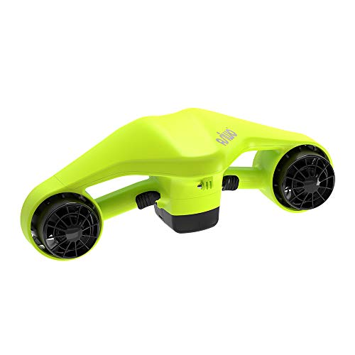 Asiwo Sea Scooter is Powerful, Portable and Light Weight Personal Water Cruiser for All Water Sports Enthusiasts – Swim Anywhere. (Green)