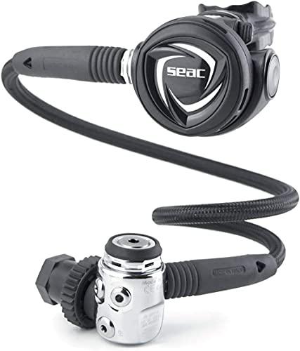 SEAC MX100 INT 230 bar, Octopus and Diving Regulator Set, Bag Included