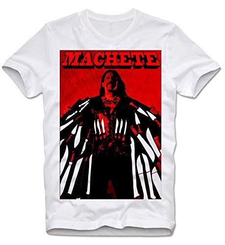 T-Shirt Machete Grindhouse Tarantino Rodriguez Danny Trejo Kultfilm Cult Movie XL