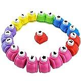 HAKACC Papierstanzer, 20 Stück Motivstanzer Set Papier Ausstanzer für Kinder DIY Scrapbook Fotoalbum Handwerk
