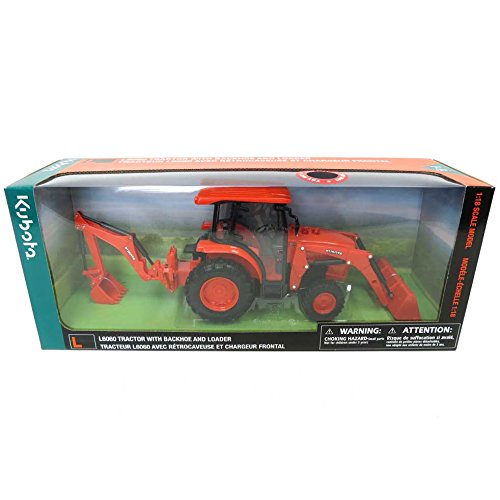 Kubota 1/18th L6060 with Loader and Backhoe