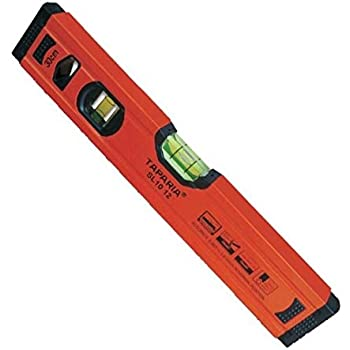 Taparia 12-Inch Spirit Level with Magnet SLM 1012
