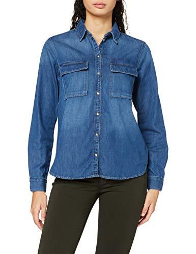 Pepe Jeans Nina Blusa, Azul (Denim Gf8), X-Small para Mujer