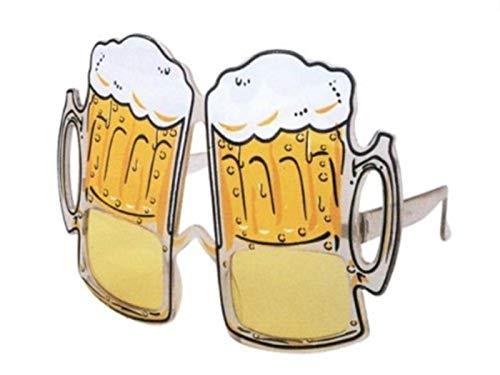HAAC Gafas de cerveza, jarra de cerveza, vaso de cerveza, gafas de...