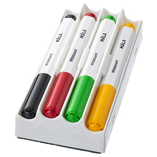 IKEA MÅLA Whiteboard Stift Mischfarben 4-teilig