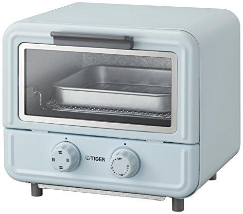 タイガー オーブン トースター ぷちはこ ブルー レシピ付き やきたて KAO-A850-A Tiger