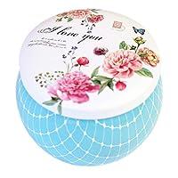 Rowentauk Candy Jar, Panier à thé Chinois Boîte de Biscuits de Mariage Mignons pour Le Mariage, décorations de fêtes de Noël (1 pièce)