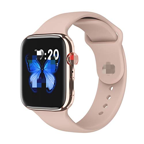 FUNSHINNY 2021 IWO 12 Pro Series 5 Inteligente Reloj SmartWatch los 44MM Bluetooth IP68 Resistente al Agua Reloj Deportivo for iOS Android PK IWO 8 13 10 MAX (Color : Blue, Size : with Gift Box)