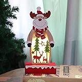 Ornamenti Luminosi di Babbo Natale Bagattelle Ornamenti Decorativi per Decorazioni Natalizie Natale Decor Addobbi Personalizzate Decorazione Dell'Albero di Natale di Regalo Particolari