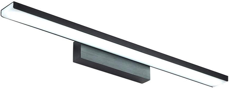 BAIF Spiegelleuchte Badezimmerspiegelleuchten LED Badezimmerspiegelleuchte Moderne einfache Ankleide Lampe wasserdichte Wandleuchte für Badezimmer [Energieklasse A +] (Ausgabe  Neutrallight, Gr