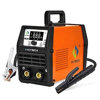 HITBOX ARC Lift Tig Welder 200A 220V Stick MMA IGBT Inverter Welding Machine Can Weld 7018 4.0mm Cellulose Rod  Model  HB2200