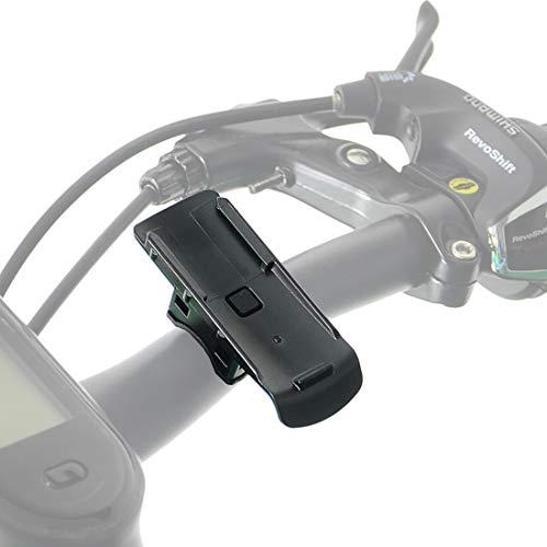 subtel Portabicicletas/Carrito de Golf para Garmin Alpha 50, 100 / Approach G3, G5 / eTrex 10, 20, 30 / GPSMAP/Oregon Serie Soporte para Manillar Soporte para Bicicleta Plástico, Negro
