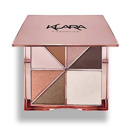 Klara Cosmetics Paris Eyeshadow Hig…