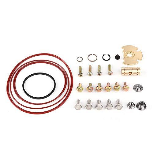 KIMISS Turbo Rebuild Set, kit de reconstrucción de reparación de turbocompresor de aleación adecuado para Garrett VNT GT15/GT17/GT18/GT20