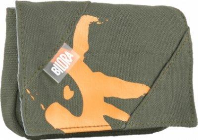 Bilora Cotton Tasche für Kompaktkamera grün