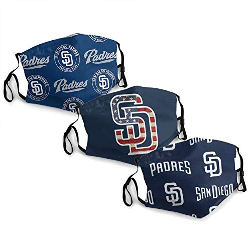 MLB San Diego-Padres Adult Dust Mask,Dust Air Filter Protection