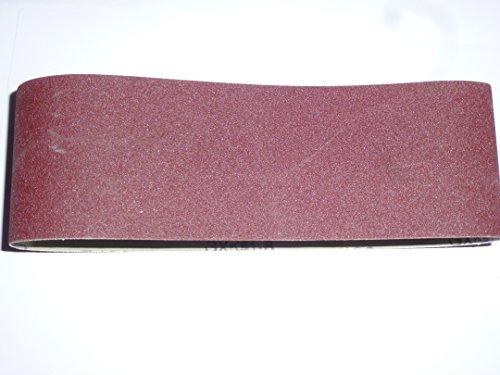 25 Stk. Gewebe-Schleifbänder 100x610 mm für Bandschleifer Mix Korn K40/60/80/120/180 Schleifband