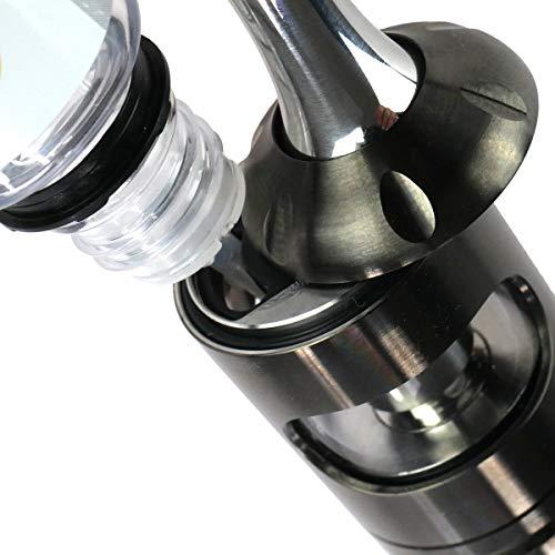 Aspire Nautilus 2S MTL / DL Clearomizer 2,6 ml, Durchmesser 23 mm, Riccardo Verdampfer für e-Zigarette, schwarz