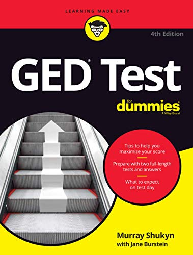 GED Test For Dummies, 4th Edition (For Dummies (Lifestyle))