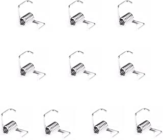 TRONXY GT2 Timing Belt Torsion Spring for 3D Printer 6mm Width Belt Pack of 10,Silver Metal Spring 3D Printer Accessories
