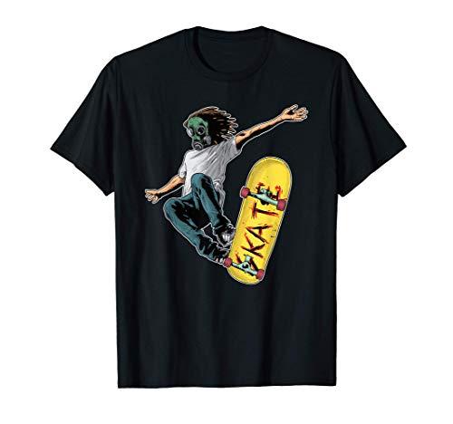 Skater Skateboarder Skateboard Skaten Sport Geschenk T-Shirt