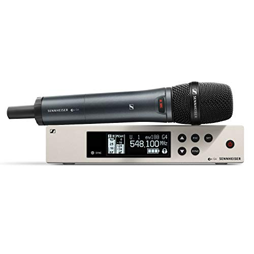 SENNHEISER EW100 G4 865 S RANGE RADIOMICROFON PALMARE SUPERCARDIOIDE 516-558 Mhz