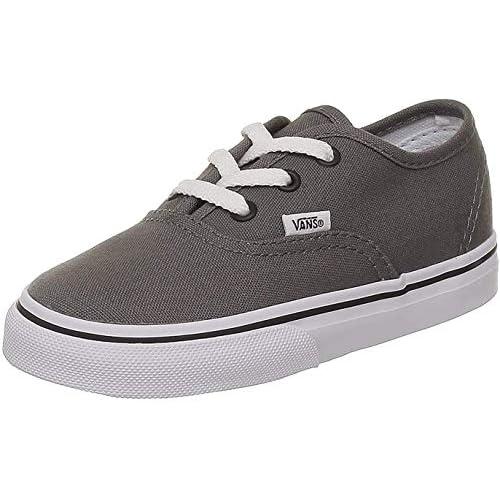 Vans T AUTHENTIC blk Sneaker, Unisex Bambino, Grigio, 30
