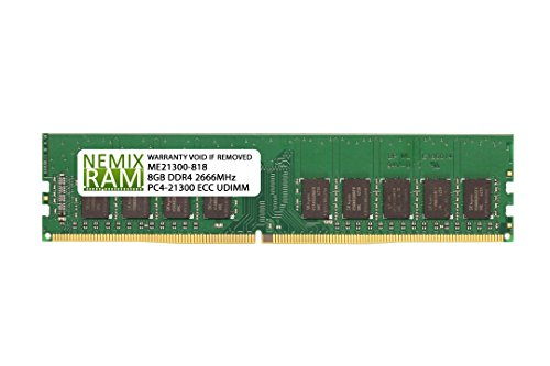 Nemix Ram SNPD715XC/8G AA335287 - Disco Duro para DELL PowerEdge T130 (8 GB)