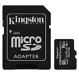 キングストン microSDカード 16GB Class10 UHS-I U1 V10 A1 対応 アダプタ付 Canvas Select Plus SDCS2/16GB 永久保証