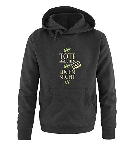 Comedy Shirts - Sweat-Shirt à Capuche - Manches Longues - Homme - Noir - Small