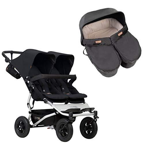 Mountian Buggy Duet - Cochecito para bebé, color negro