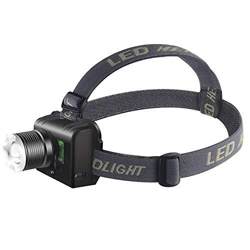 Phares SHRAY, Phares de lampe de poche, Phares de sécurité, Phares à capteur de mouvement infrarouge , Lumière de casque étanche, Lumière de sécurité rouge avec 60 & deg; Tournant