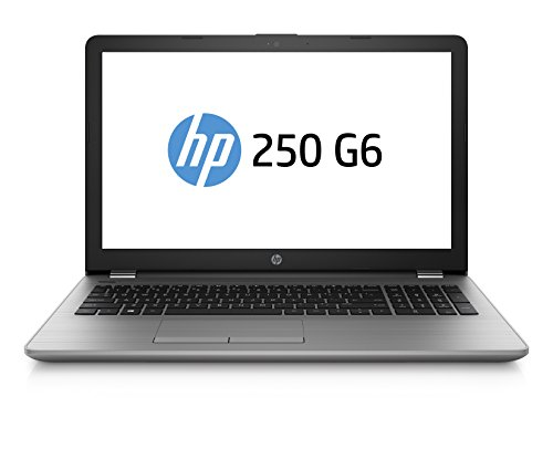 HP 250 G6 4LS65ES (15,6 Zoll Full-HD) Notebook (Intel Core i7-7500u, 128GB SSD, 1TB HDD, 8GB RAM, Intel HD Graphics 620, DVD Writer, Win 10 Home) Silber