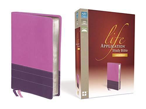 Life Application Study Bible-NIV-Large Print