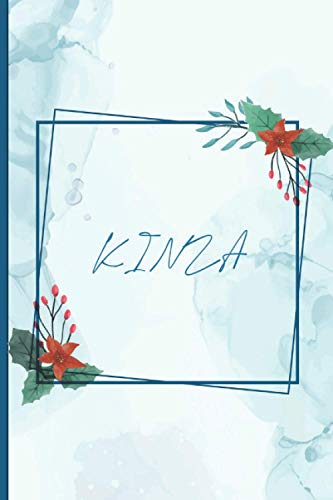 KINZA: Personalized KINZA journal notebook for girls women, birthday gift idea for friends, family, crewmates .., For everyone you love.