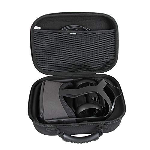 Oculus Quest (オキュラス クエスト) 2019 単体型VRヘッドセット専用収納ケース-Adada (ブラック)