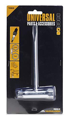 Universal Zündkerzen-Schlüssel 13x19, TLO020: Zündkerzen-Werkzeug, Original McCulloch Zubehör (Artikel-Nr. 00057-76.168.20)