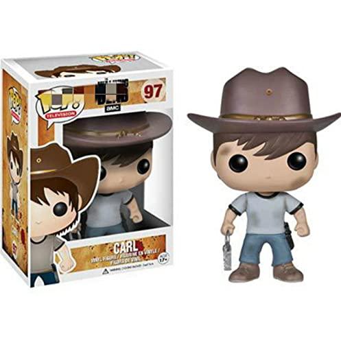 Pop Figures The Walking Dead Carl 10Cm, Action Figure With Box Vinyl Model Toys For Children Gift