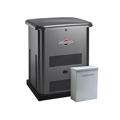 Briggs & Stratton 40445 8000-watt Home Standby Generator System with 50-Amp Automatic Transfer...