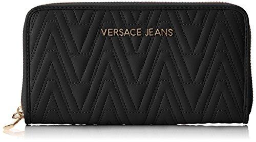 Versace Jeans Ee3vrbpy2 E70040, Portafoglio Donna, Nero, 10x2x19 cm (W x H x L)