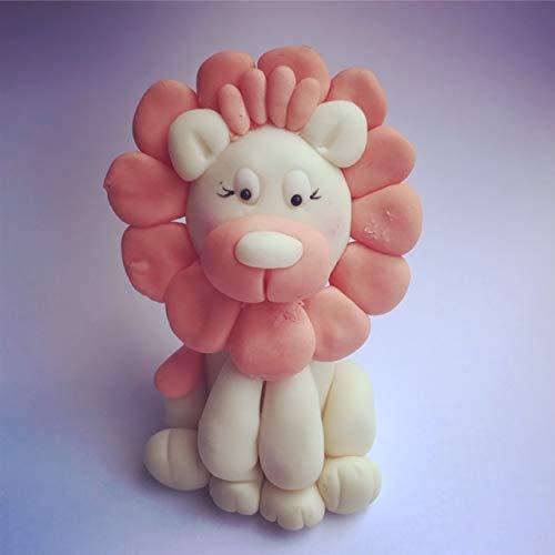 Eetbare leeuw, verjaardag, doop, babydouche, taartdecoratie, taarttopper