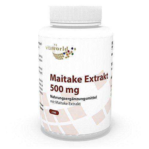 Vita World Maitake Extrakt 500mg 100 Vegi Kapseln Apotheken Herstellung