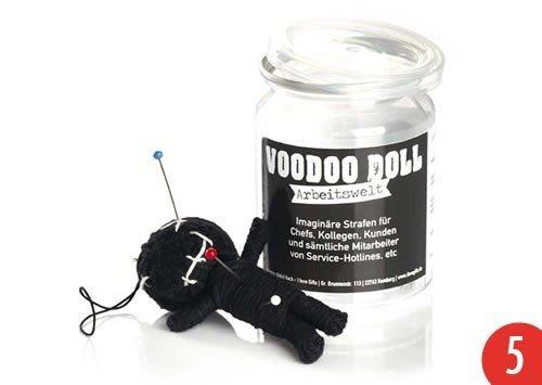 5er-Pack: Voodoo Doll in Dose +++ LUSTIG von modern times +++ ARBEITSWELT - VOODOO-DOLL +++ SCHERZBOUTIQUE