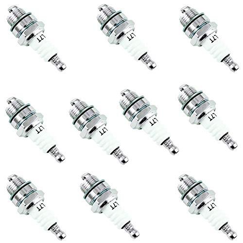 ZLDDE Bujía 10 x Spark Plug L7T for Stihl Cortasetos soplador ATV 33cc-49cc 2 Tiempos Motores Home Garden Supplies para carros (Size : 10pcs)