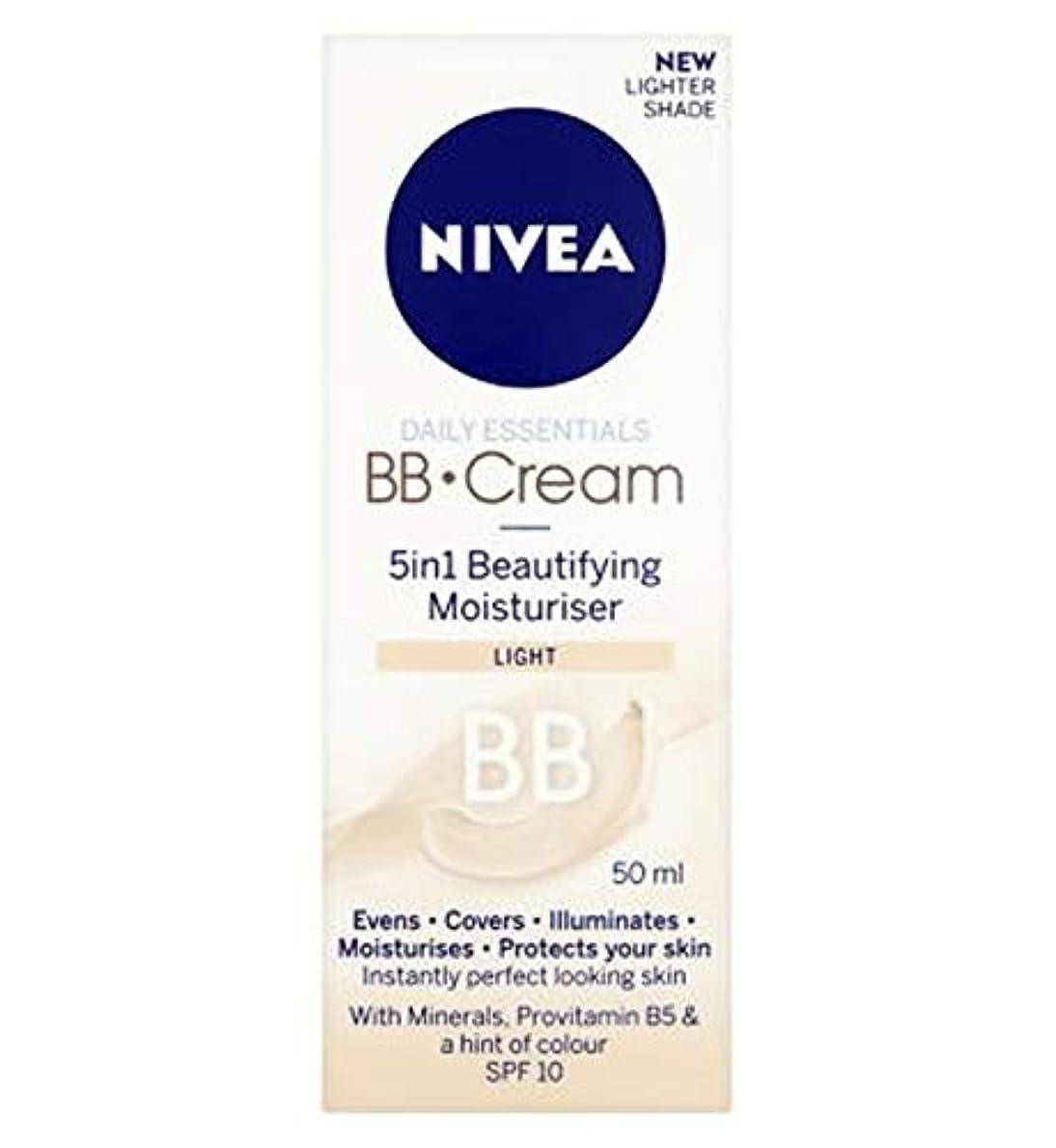 選出する不可能なハンドブック[Nivea ] 1つの美容保湿光50ミリリットルでNivea?日常必需品のBbクリーム5 - Nivea? Daily Essentials Bb Cream 5 In 1 Beautifying Moisturiser Light 50Ml [並行輸入品]