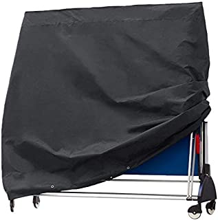 Heavy Duty Table Tennis Table Cover,Waterproof Dustproof Sunscreen Folding Table Tennis Table Cover For Outdoor And Indoor...